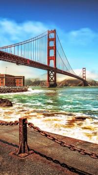 Zte Virgin Mobile Supreme Wallpapers The Golden Gate Bridge Android