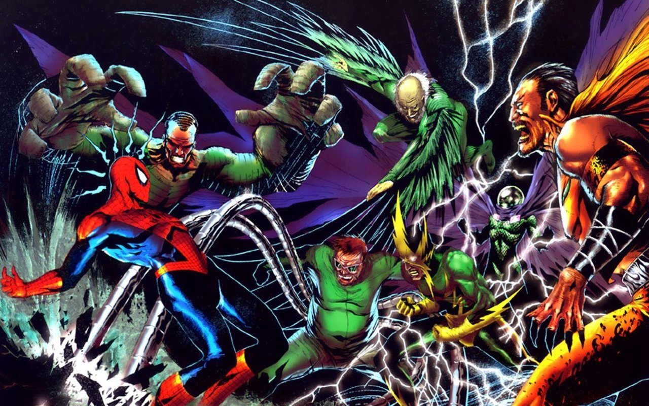 Spider man characters villains