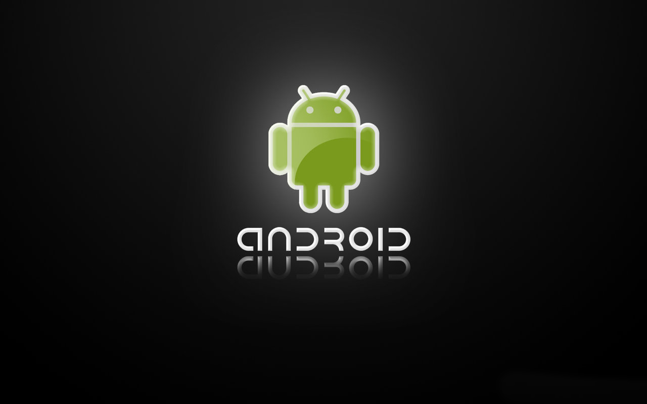 Google Nexus 7 Wallpapers: Black android logo Android ...