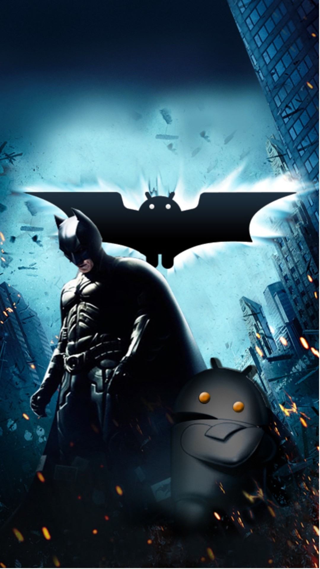 Sony Xperia Z1 Wallpapers Batman Vs Android Wallpaper