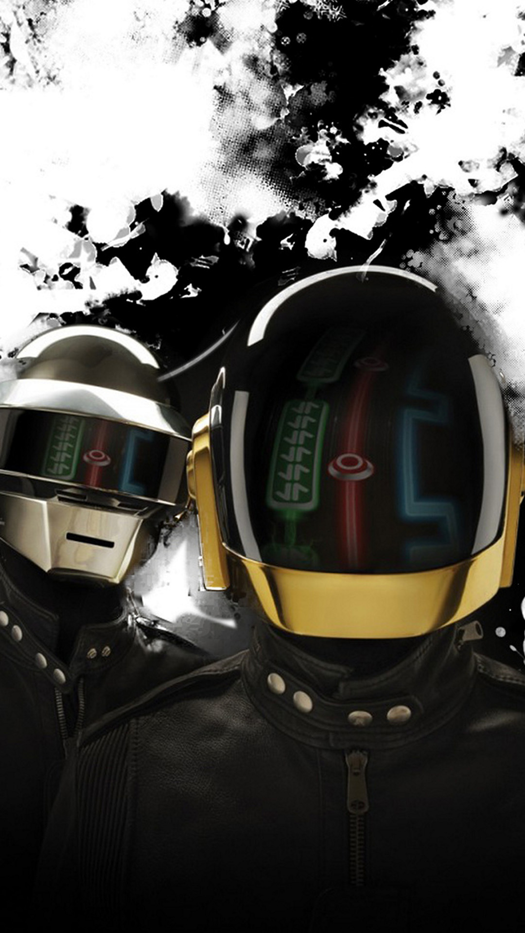 Samsung Galaxy Note 3 Wallpapers: Daft Punk Android